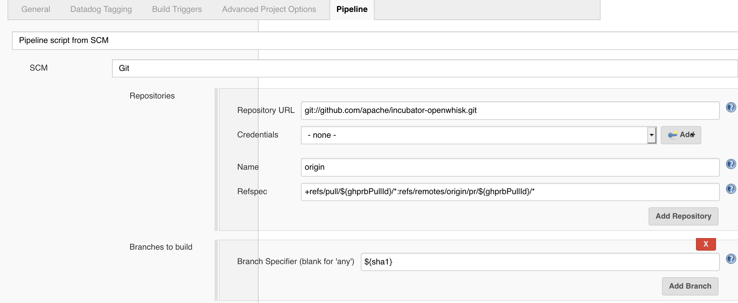 How to make Jenkins pipeline jobs triggered by pull requests for