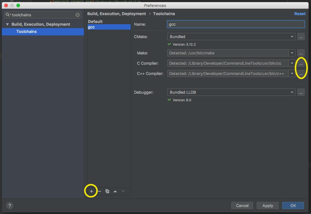 CLion setup for MXNet C++ development on Mac and Linux - MXNet