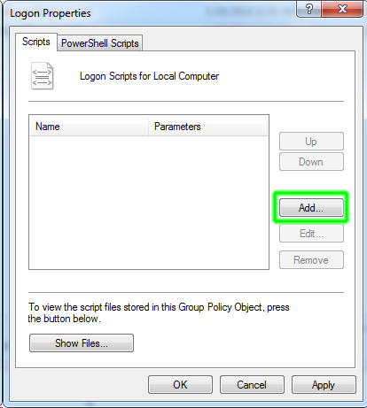 How to Configure the Windows Default User Profile - Apache
