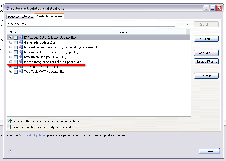 Windows Guide to Installing Wicket on Eclipse with Maven - Apache