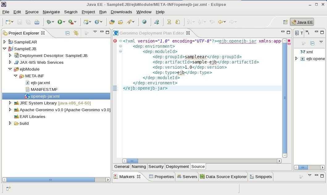 Java Ee Server Tutorial