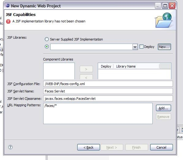 Developing persistence for JSF applications with JPA