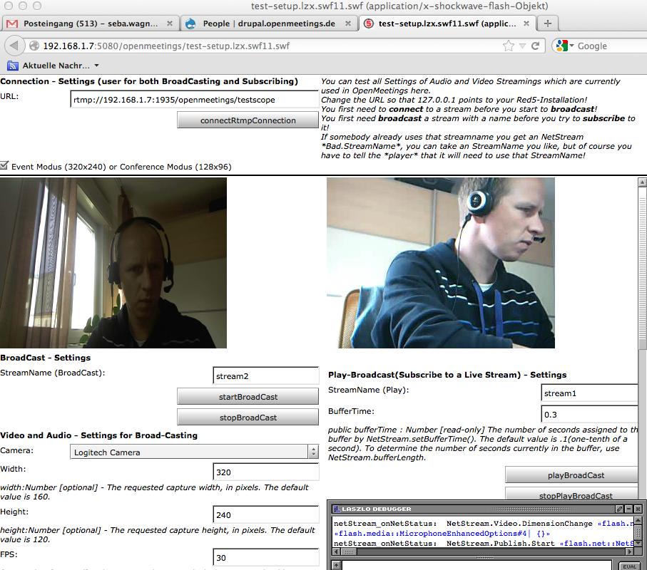 Camera Micro Testing Application Standalone - Apache