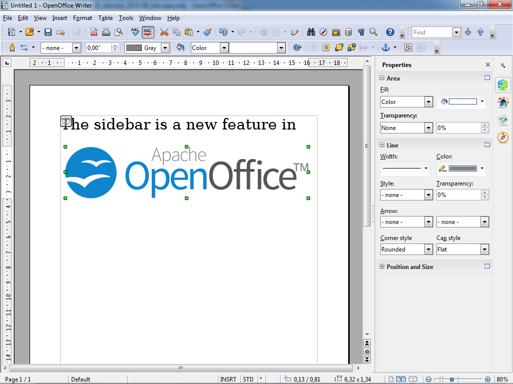 open office 4.0.0