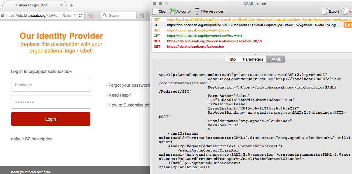 Saml security: signing and sending authnrequests in opensaml v3.