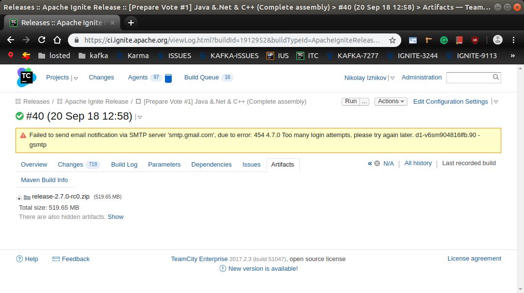 Release Process - Apache Ignite - Apache Software Foundation