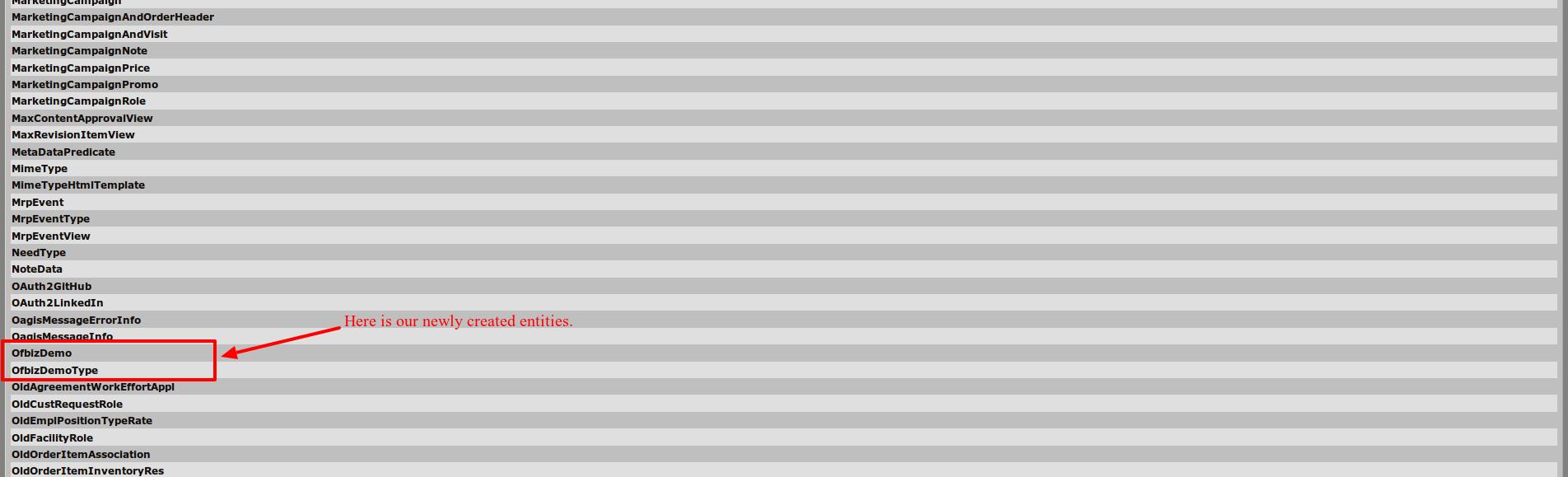 OFBiz Tutorial - A Beginners Development Guide for 16 11