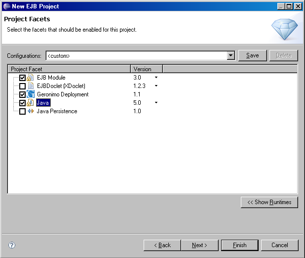 how to create enterprise application project in eclipse