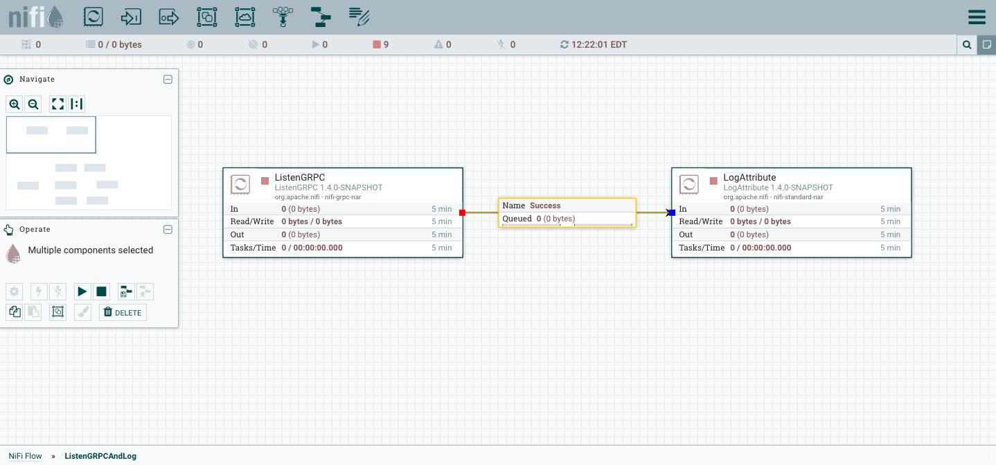 Leveraging gRPC Processors - Apache NiFi - Apache Software