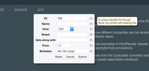 Improvements to menu-item widgets  - Juneau - Apache