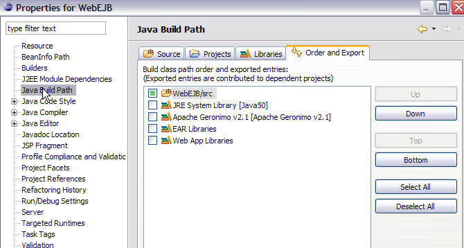 Web Application for EJB access - Apache Geronimo v2 1