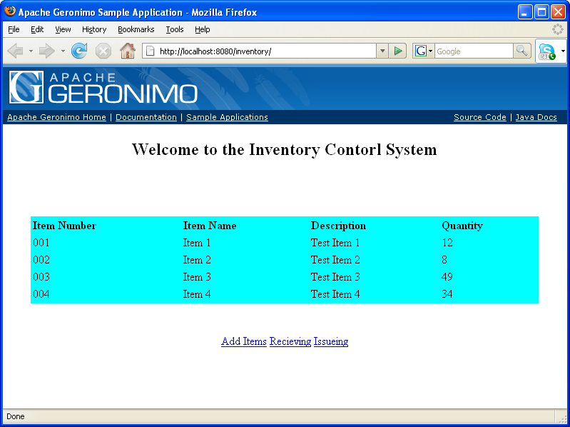 access database inventory