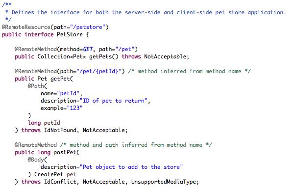 Dual-purpose REST Java interfaces - Juneau - Apache Software Foundation